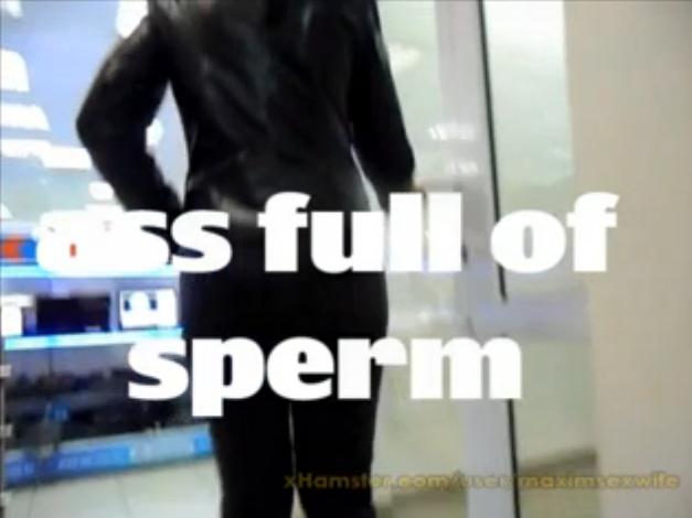 Cul déborde de sperme - Creampie anal