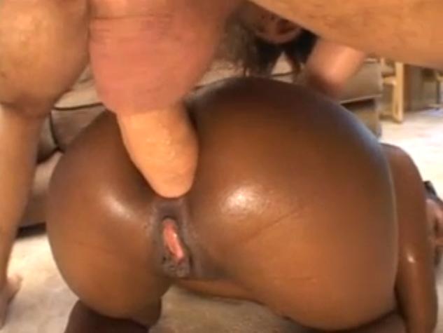 Black anal creampies